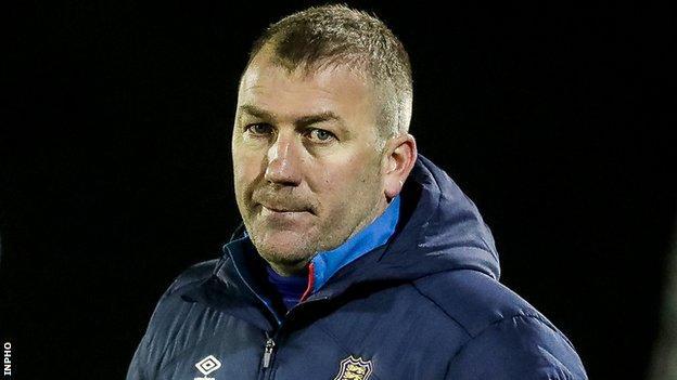 Alan Reynolds' side beat Derry City 4-0 on Friday night