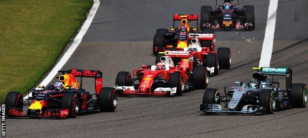 Daniel Ricciardo of Australia