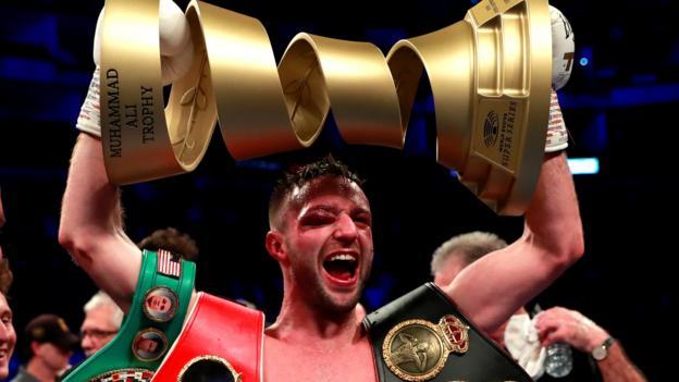Boxing: Josh Taylor beats Regis Prograis on points to unify IBF & WBA super-lightweight titles thumbnail