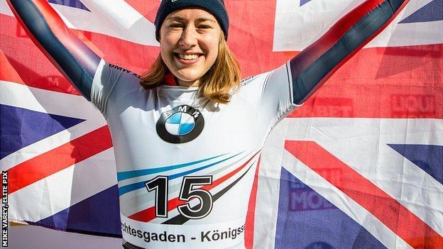 Lizzy Yarnold has won World, European and Olympic golds
