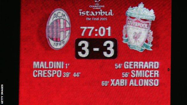 Liverpool won Europe's top competition for a fifth time with victory in Istanbul