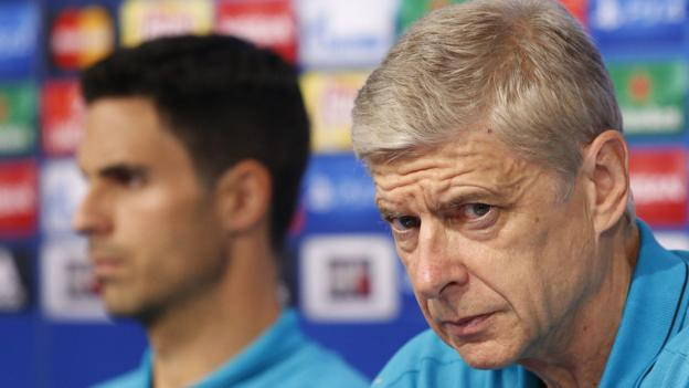 101605291 wenger arteta rex1 - Arsenal: Arsenal Wenger says Mikel Arteta has qualities to be supervisor