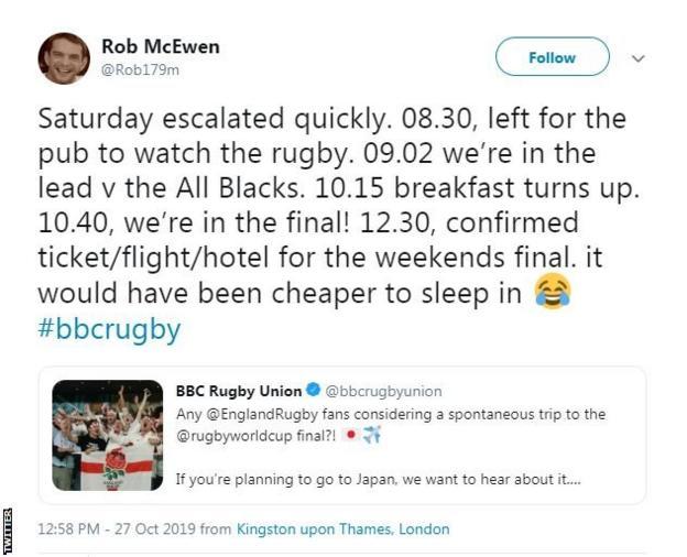 Rob McEwan tweets