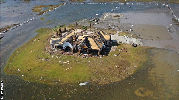 Hurricane Laura devastated the southern coast of Louisiana