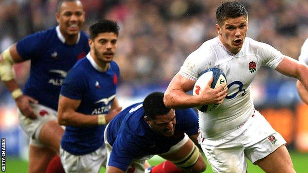England v France in 2020 Six Nations