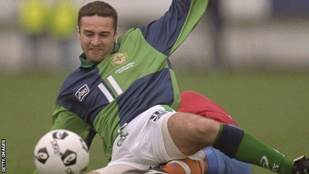 Michael Hughes won 71 caps for Northern Ireland