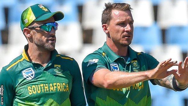 Faf du Plessis and Dale Steyn