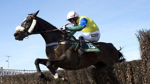 Ryan Mania rode 66-1 outsider Auroras Encore to victory on his Grand National debut in 2013