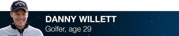 Danny Willett - Golfer, age 29