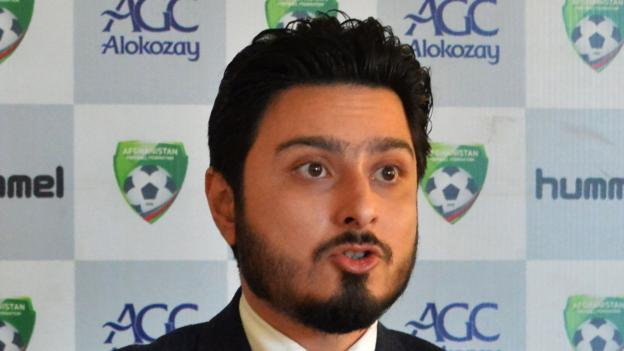 Afghanistan football official banned by Fifa over sex abuse scandal