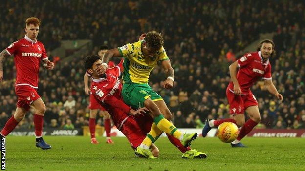 Onel Hernandez scores Norwich's winner