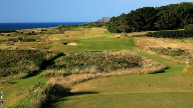Portrush hole three