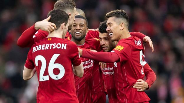 Liverpool 4-0 Southampton: Reds equal winning record at Anfield thumbnail