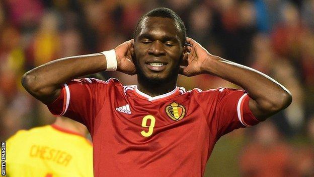 Liverpool and Belgium forward Christian Benteke