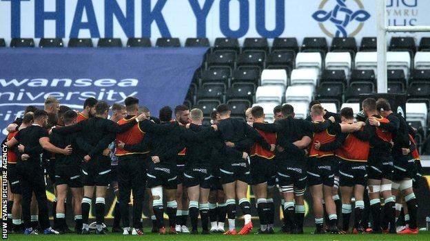 Ospreys have won three out of seven Pro14 matches this season