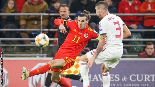 Gareth Bale is Wales' record scorer with 33 goals from 85 appearances