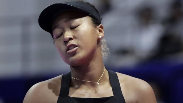 Naomi Osaka beaten by Karolina Pliskova in Pan Pacific Open final in Tokyo - BBC Sport