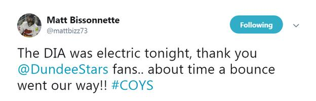 Matt Bissonnette tweet