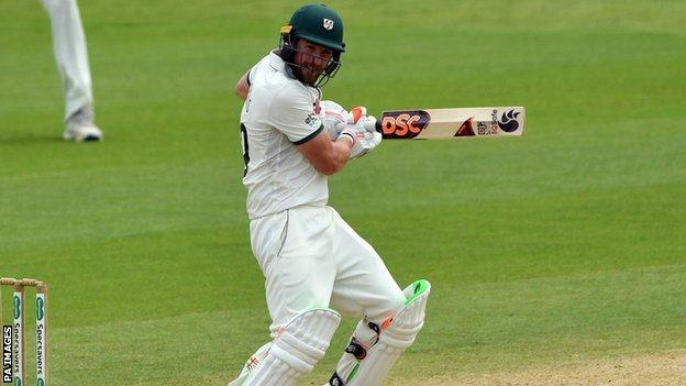 sports Worcestershire's Riki Wessels was forced to leave Northants in 2010 due to visa issues