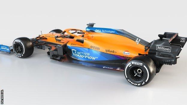 McLaren MCL35M Mercedes