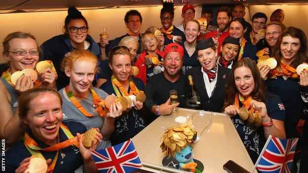 Some of GB's medallists at the Rio Paralympics
