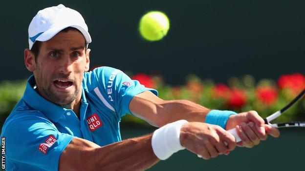 Djokovic has six Australian Open titles but has yet to win the French Open