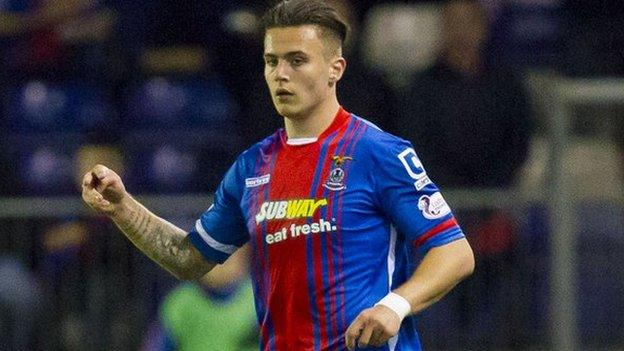 Miles Storey scored the opener for Inverness