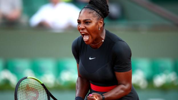 101831991 serena1 getty - French Open 2018: Serena Williams battles past Ashleigh Barty