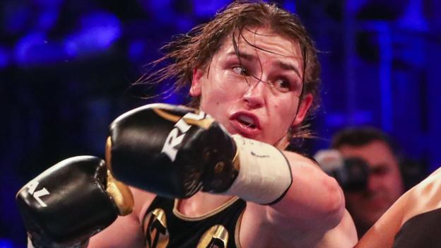 Katie Taylor to fight Victoria Bustos in New York unification bout