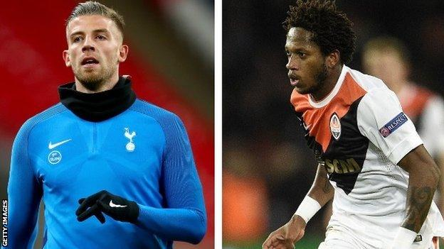Toby Alderweireld and Fred