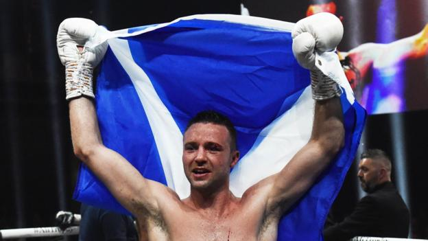 Josh Taylor secures first world title with points victory against Ivan Baranchyk thumbnail