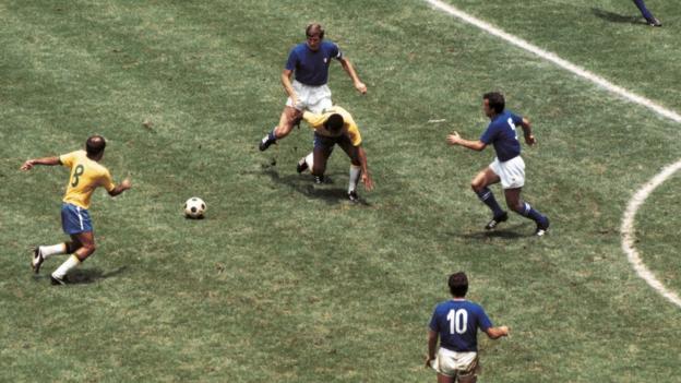 Brazil v Italy, 1970 World Cup Final