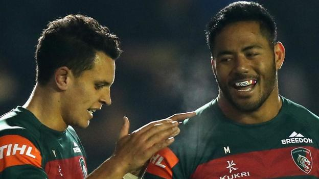 European Rugby Champions Cup: Leicester Tigers 45-27 Scarlets thumbnail