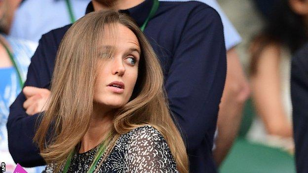 Andy Murray's wife Kim