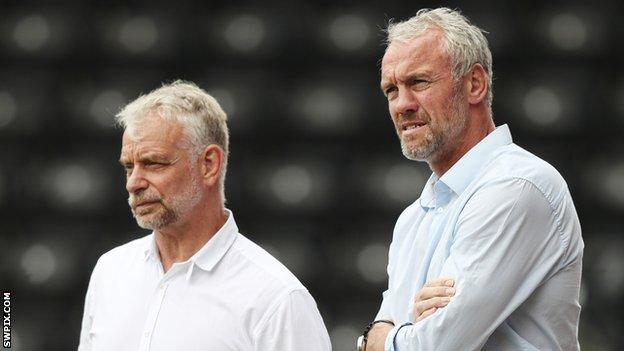 Brian Noble and Brian McDermott