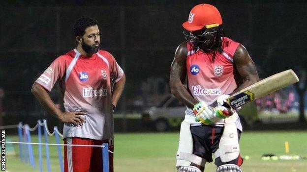 West Indies' and Kings XI Punjab opener Chris Gayle