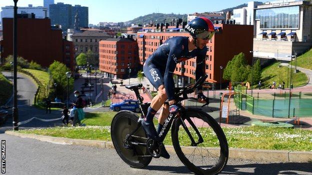 Adam Yates sixth as Primoz Roglic wins Basque Country time trial thumbnail
