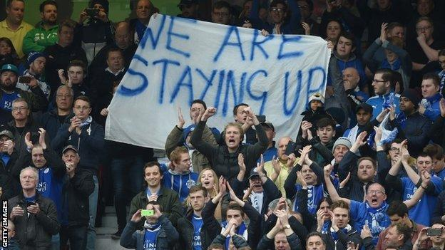 Leicester banner