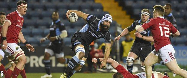 Josh Strauss may have forced his way into Vern Cotter's Scotland team for the Six Nations match in Italy with his man-of-the-match performance against Munster