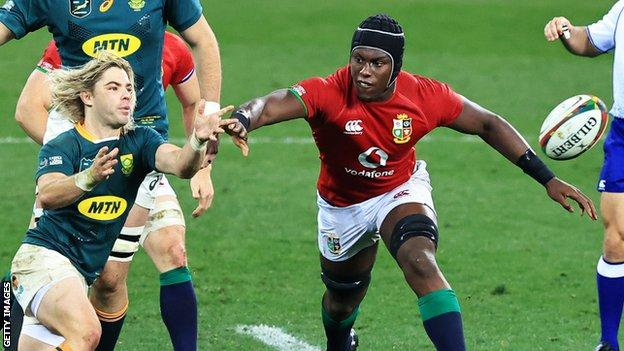 British and Irish Lions: Maro Itoje urges team-mates to learn from history thumbnail