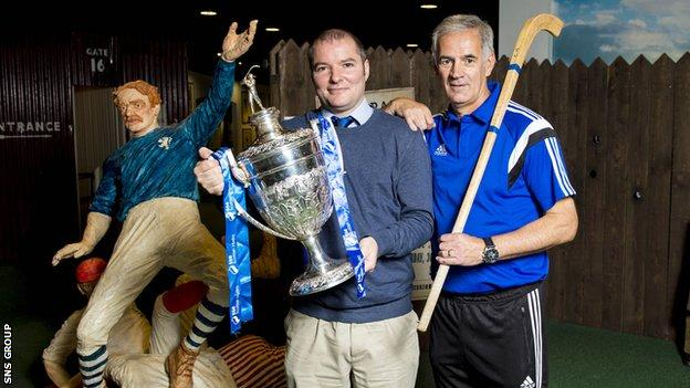 The draw was made at the Scottish Football Museum at Hampden Park