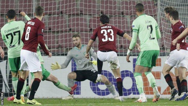 Celtic are reeling from successive 4-1 Europa League defeats to Sparta PragueSparta Prague v Celtic