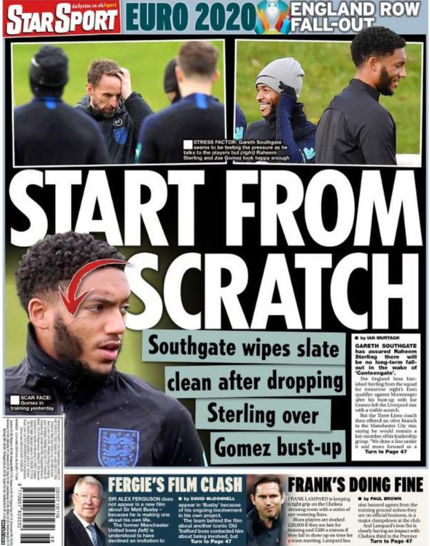 Daily Star back page
