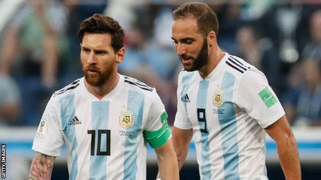 Lionel Messi Argentina What Next After Copa America Red Card Bbc Sport