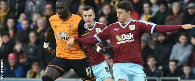 Hull City v Burnley