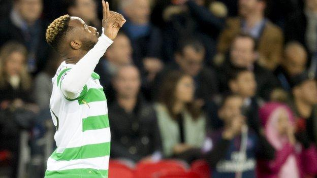 Celtic striker Moussa Dembele