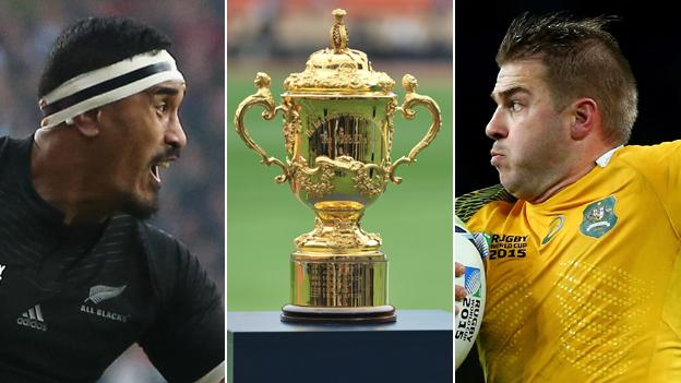 Rugby World Cup final - New Zealand v Australia