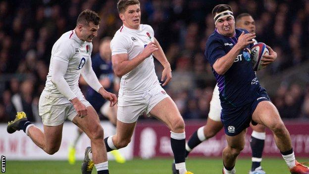 Scotland fought back from a 31-0 deficit to draw with England at Twickenham last year