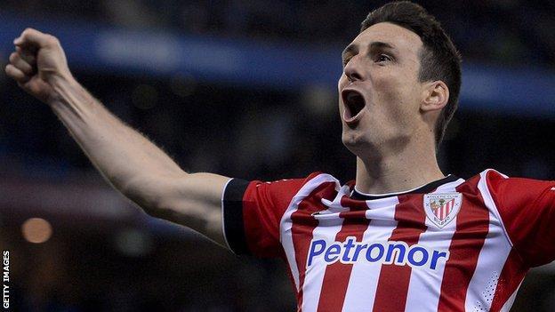 Athletic Bilbao striker Aritz Aduriz