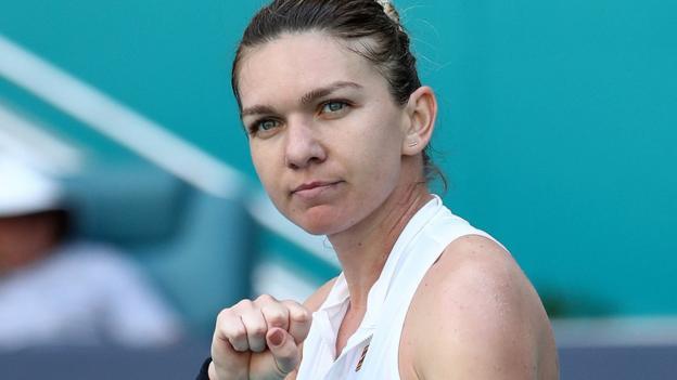 Miami Open 2019: Simona Halep through to semis thumbnail